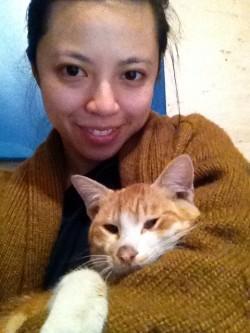 My new cat friend!